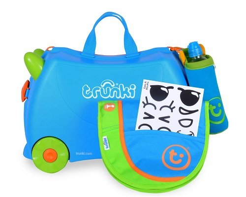 Maleta infantil Trunki Terrance barata, maletas baratas, chollos en maletas, ofertas en maletas