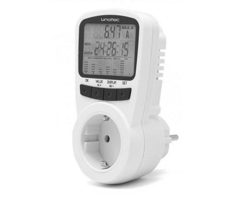 Medidor de consumo eléctrico Unotec Ecoplug II barato, medidores de consumo baratos, ofertas en medidores de consumo, chollos en medidores de consumo