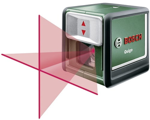 Nivel láser Bosch QUIGO II barato, niveles láser baratos, chollos en niveles láser, herramientas baratas