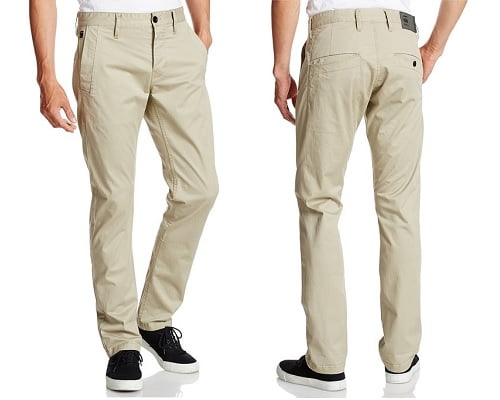 Pantalón chino G-Star Raw Bronson slim barato, pantalones G-Star baratos, chollos en pantalones, pantalones de marca baratos, pantalones baratos