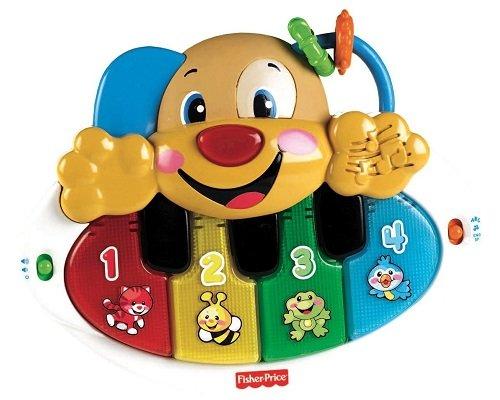 Piano Perrito Aprendizaje Fisher Price barato, juguetes baratos, chollos en juguetes, ofertas en juguetes