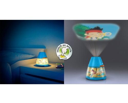 Proyector y luz noctura LED Philips Jake barata, chollos en lámparas nocturnas infantiles, lámparas nocturnas infantiles baratas, lámparas infantiles baratas, chollos en lámparas infantiles