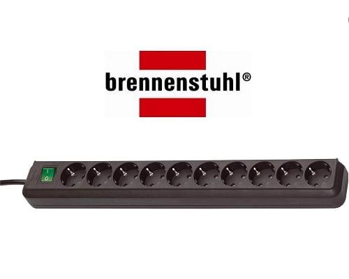 Regleta Brennesnstuhl Eco-Line de 10 tomas barata, regletas de corriente baratas, chollos en regletas, ladrones de corriente baratos