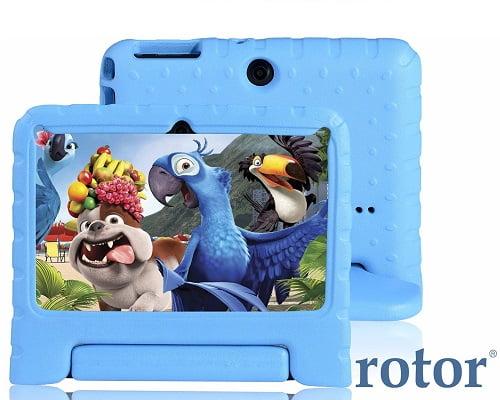 Tablet infantil Android Rotor barata, chollos en tablets infantiles, tablets para niños baratas, ofertas en tablets