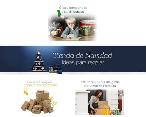 Tienda de navidad de Amazon, regalos baratos, ideas para regalos de Navidad, chollos para regalar