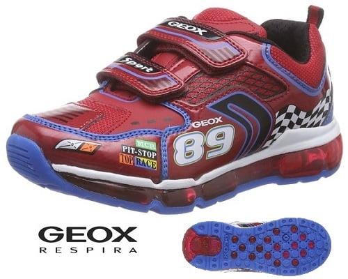 Zapatillas deportivas Geox J Android Boy baratas, chollos en Geox, calzado de marca barato, chollos en calzado