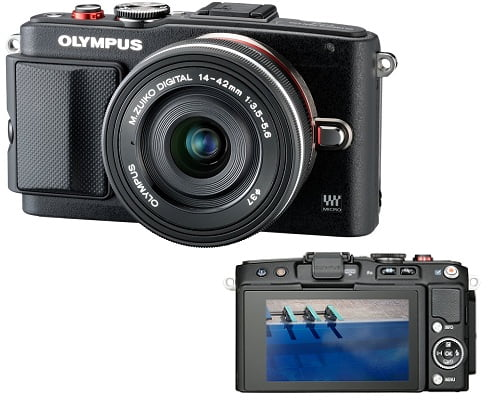 Cámara de fotos Olympus PEN E-PL6 barata, cámaras de fotos baratas, chollos en cámaras de fotos, ofertas en cámaras de fotos