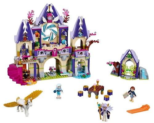 El misterioso castillo de Skyra en el cielo de LEGO barato, juguetes baratos, chollos en juguetes, ofertas en juguetes