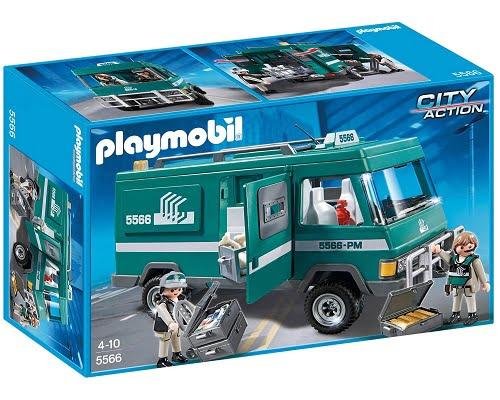 Furgón blindado del dinero de Playmobil 5566 barato, juguetes de Playmobil baratos, chollos en Playmobil, juguetes baratos, chollos en juguetes