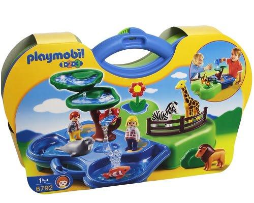 Maletín zoo y acuario de Playmobil barato, juguetes de Playmobil baratos, chollos en juguetes de Playmobil, ofertas en juguetes de Playmobil