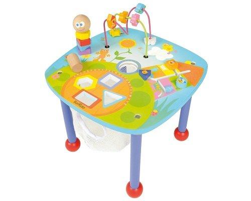 Mesa de actividades con madera Boikido barata, juguetes baratos, chollos en juguetes, ofertas en juguetes