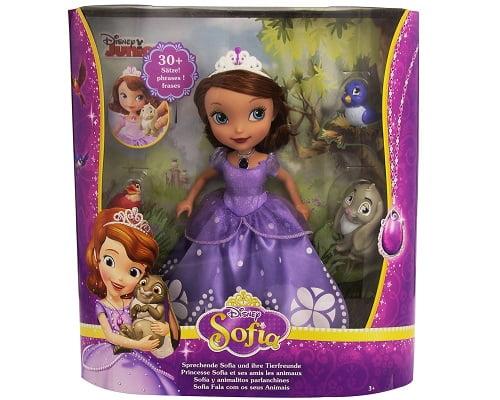 Muñeca princesa Sofía de Mattel barata, juguetes baratos, chollos en juguetes, ofertas en juguetes, muñecas baratas, chollos en muñecas