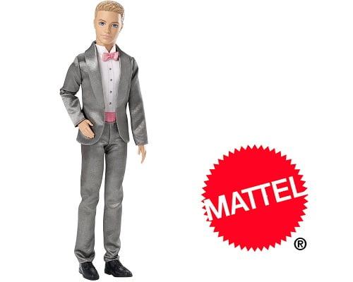 toma chollo! muñeco ken vestido de novio de barbie mattel sólo 10