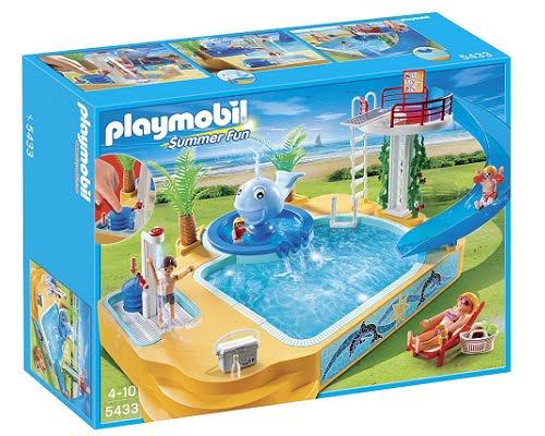 Piscina con fuente de Playmobil vacaciones barata, juguetes baratos, chollos en juguetes, ofertas en juguetes, Playmobil baratos, chollos Playmobil