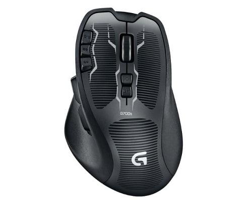 Raton Gaming inalámbrico Logitech G700s barato, ratones baratos, chollos en ratones, ofertas en ratones