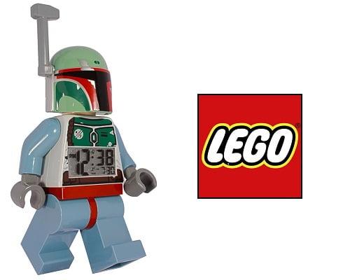 Reloj despertador Bobba Fett de Lego Star Wars barato, despertadores baratos, chollos en despertadores, despertadores infantiles baratos
