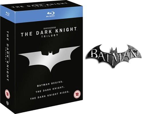 Trilogía de Batman El Caballero Oscuro en Blu-Ray barata, películas en Blu-Ray baratas, chollos en películas en Blu-Ray