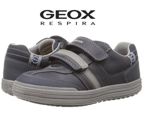 Geox Textil Junior Extra CEXTRA4 - Zapatillas para niño, color plateado, talla 38