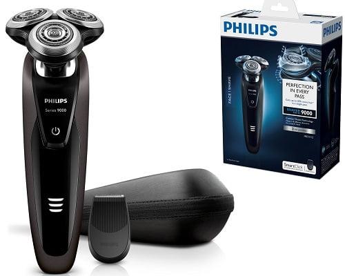 Afeitadora Philips 9000 S9031/12 en seco y húmedo barata, maquinillas de afeitar eléctricas baratas, chollos en máquinas de afeitar, afeitadoras baratas