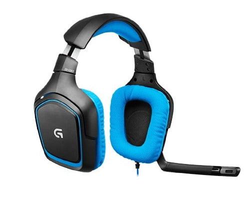 Auriculares Logitech G430 Gaming Surround baratos, auriculares baratos, auriculares gaming baratos, chollos en auriculares