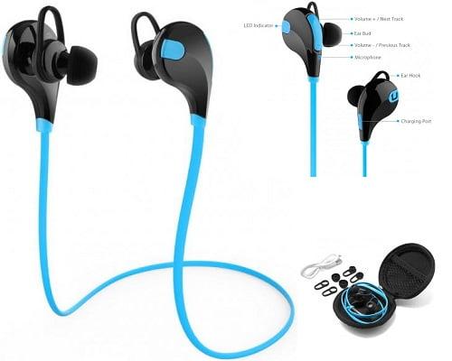 Auriculares deportivos Unotec LB-RUN Bluetooth baratos, chollos en auriculares deportivos, auriculares deportivos baratos