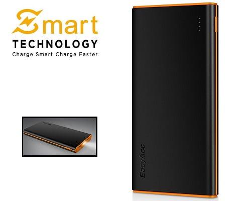 Batería externa EasyAcc 10000 mAh barata, baterías externas baratas, chollos en baterías externas, ofertas en baterías externas