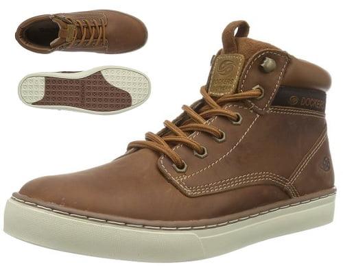Botines de piel Dockers baratos, calzado barato, chollos en calzado de marca, calzado de marca barato, botines de cuero baratos