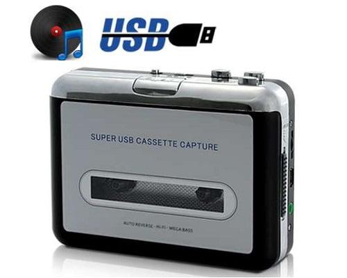 Conversor de cintas a MP3 Unotec Safty barato, conversores de cintas a MP3 baratos, chollos en conversores de cintas a MP3, ofertas de conversores de cintas a MP3