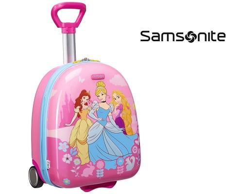 Maleta trolley infantil Samsonite Princesas Disney barata, maletas baratas, chollos en maletas, maletas rígidas baratas, maletas infantiles rígidas baratas, chollos en maletas infantiles