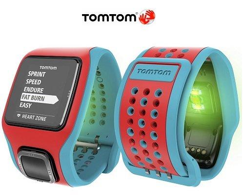 Reloj con GPS TomTom Runner Cardio barato, chollos en relojes con GPS, relojes con GPS baratos 1