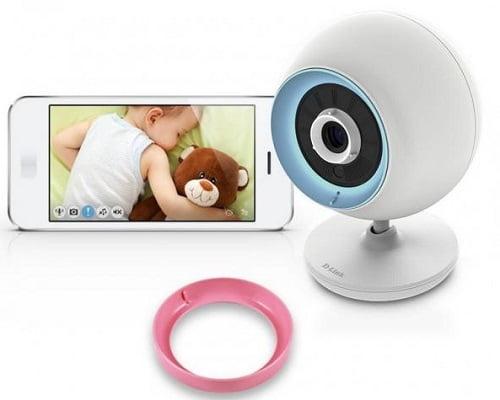 Cámara vigilabebés D-Link Baby WiFi DCS-820L EyeOn barata, cámaras vigilabebés baratas, chollos en vigilabebés