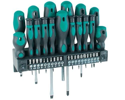Juego de destornilladores y puntas Mannesmann M11415 barato, destornilladores baratos, herramientas baratas, chollos en herramientas, ofertas en herramientas