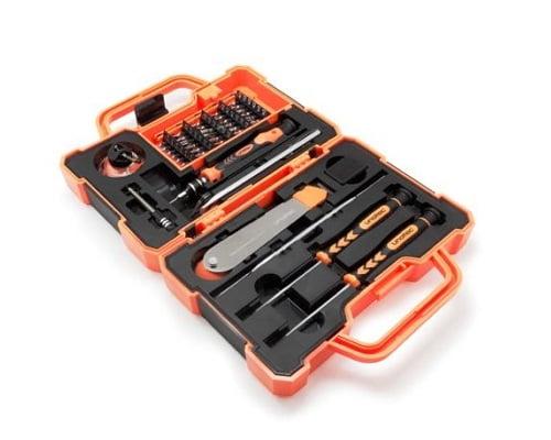 Kit profesional de reparación de smartphones Unotec barato, kits de reparaciones baratos, chollos en kits de reparación, oferta de kits de reparación