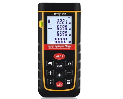 Telémetro láser JETERY LDM03 barato, telémetros baratos, chollos en medidores láser, medidores láser baratos, chollos en telémetros