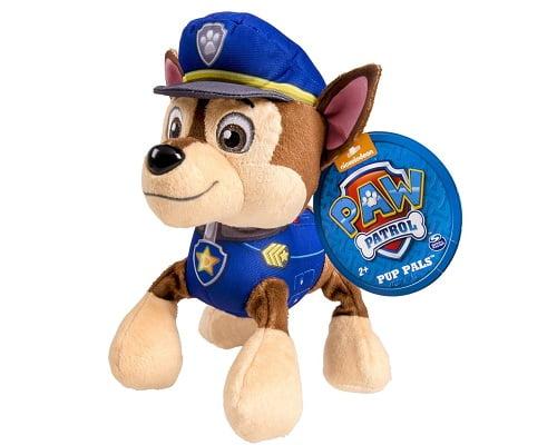 Peluche de Chase de la Patrulla Canina barato, peluches de la Patrulla Canina baratos, artículos de la patrulla canina baratos, chollos en muñecos de la patrulla canina