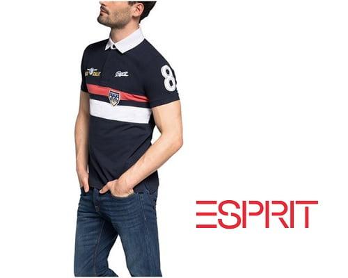 Polo Esprit Piqué barato, ropa de marca barata, polos de marca baratos, chollos en ropa de marca, chollos en polos