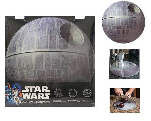 Tabla de cortar Star Wars Estrella de la muerte barata, tablas de cortar baratas, tablas de cocina baratas, chollos en tablas de cortar