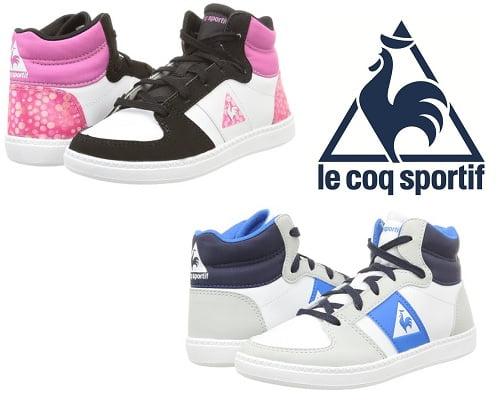 Zapatillas de deporte para niños Le Coq Sportif Rebond Mid Gs baratas, zapatillas de deporte baratas, chollos en zapatillas de deporte, zapatillas de deporte para niños baratas