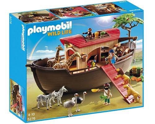 Arca de los animales de Playmobil barata, juguetes de Playmobil baratos, chollos en Playmobil, juguetes baratos