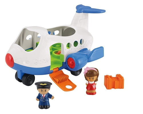 Avión cantarín Little People de Fisher Price barato, juguetes baratos, chollos en juguetes, ofertas en juguetes