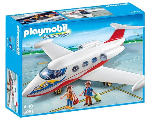 Avión de vacaciones de Playmobil barato, juguetes de playmobil baratos, juguetes baratos, chollos en juguetes, ofertas en juguetes
