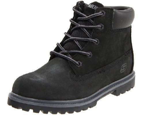 Botas de cuero para niño Skechers Mecca Lumberjack 9315L WTN baratas, calzado barato, chollos en calzado, ofertas en calzado