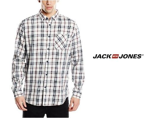 Camisa Jack & Jones Brake barata, camisas de marca baratas, chollos en camisas de marca, ofertas en camisas, ropa de marca barata