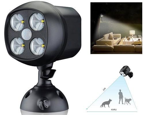 Foco de LED VicTsing barato, focos de LED baratos, chollos en luces LED, luces LED baratas, chollos en focos de LED