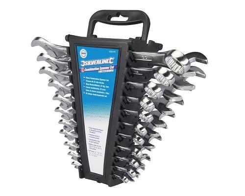 Juego de llaves combinadas Silverline 633470 barato, herrramientas baratas, chollos en herramientas, ofertas en herramientas