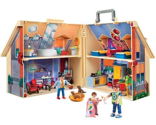 Maletín casa de muñecas de Playmobil 5167 barato, juguetes de Playmobil baratos, chollos en juguetes de Playmobil, juguetes baratos, chollos en juguetes