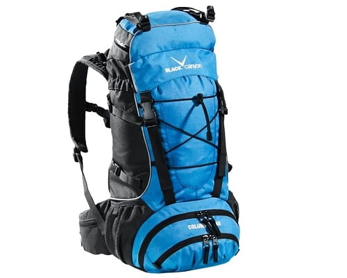 Mochila de senderismo Black Canyon barata, mochilas baratas, chollos en mochilas, ofertas en mochilas, material de acampada barato, mochilas de senderismo baratas