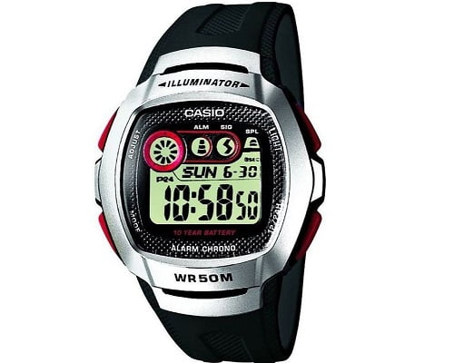 Reloj digital para hombre Casio W-210-1DVES barato, relojes baratos, chollos en relojes, ofertas en relojes