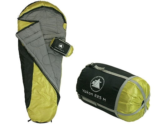 Saco de dormir 10T Yukon 225M barato, sacos de dormir baratos, chollos en sacos de dormir, ofertas en sacos de dormir