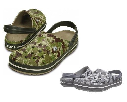 Zuecos Crocs Crocband Camo baratos, zuecos Crocs baratos, chollos en Crocs, ofertas en Crocs, calzado de marca barato
